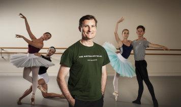 Outgoing Australian Ballet artistic director David McAllister.
