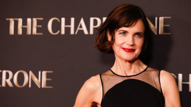 Elizabeth McGovern at the Australian premiere of The Chaperone.
