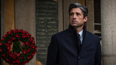 """""""I was really intrigued by how the financial crash affected the Europeans,"""" says Patrick Dempsey."""