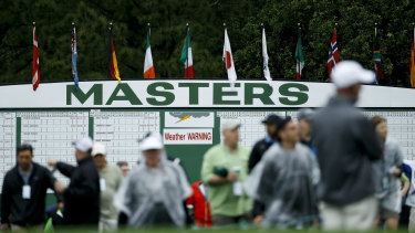The US Masters has been postponed with September named as a tentative new date.