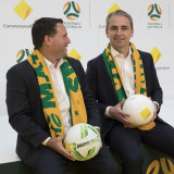 Football Australia CEO James Johnson and Commonwealth Bank CEO Matt Comyn announced a new partnership with the CBA coming on board as the naming rights partner for the Matildas.