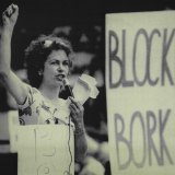 An anti-Bork rally in September 1987.