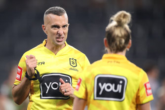 Matt Cecchin will likely take charge of his final NRL match this weekend.
