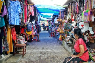 Bali's economy has suffered from the absence of foreign tourists.