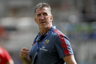 Former Canterbury and Munster coach Rob Penney is the frontrunner for the Waratahs job.