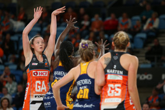 Once again the Giants were let down by their reliance on the super shot, successful with just six from 16 attempts with the two-pointer.
