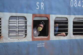 India is preparing to re-start its train service.