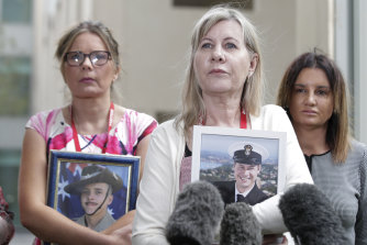 Nikki Jamieson and Julie-Ann Finney lost their sons Daniel and David to suicide, and joined Senator Jaqui Lambie in calling for the royal commission.