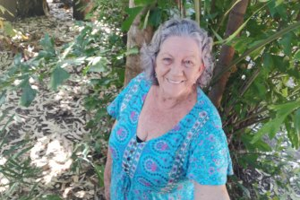 Lyn Lynch from Fernvale, whose home was flooded to the rooftop during the 2011 Brisbane flood.
