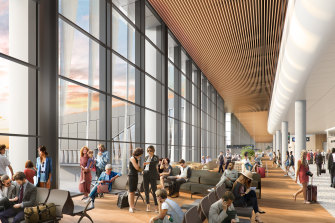Construction of the terminal is due to start by the end of next year.