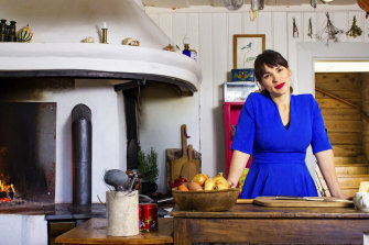 Sweet presenter: Rachel Khoo in My Swedish Kitchen.