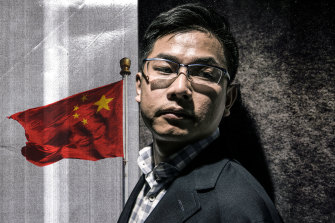 Wang Liqiang's case made headlines and prompted police action in Taiwan. Illustration: Mark Stehle, Photo: Steven Siewert