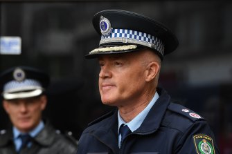 NSW Police Deputy Commissioner Mal Lanyon.