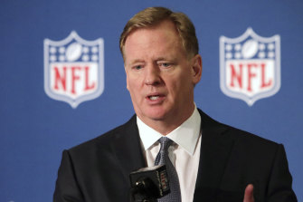 NFL commissioner Roger Goodell: The league has announced substantial funding to combat racism.