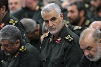 Revolutionary Guard General  Qassem Soleimani.