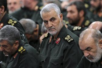 Revolutionary Guard General  Qassem Soleimani.