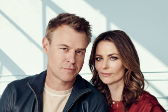 In the new season of <i>Five Bedrooms</i>, Kat Stewart's Liz is drawn back to the husband, Stuart (Rodger Corser), she left, all the while hoping to build an independent life.