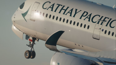 The man travelled on a Cathay Pacific flight to Sydney form Bangladesh.