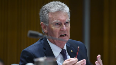 ASIO boss Duncan Lewis said he saw no reason for a major shift in resources dedicated to right-wing extremism.