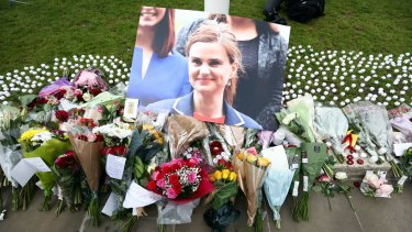 "British MP Jo Cox was killed by a neo-Nazi who yelled ""Britain first"" as he stabbed her."