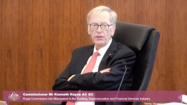 Commissioner Kenneth Hayne asked how Westpac would respond to requests from ASIC in future.