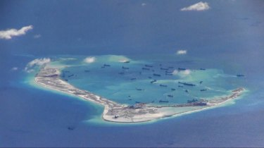 The Coalition government has resisted US pressure to undertake freedom of navigation operations in response to Chinese territorial expansion in the South China Sea.