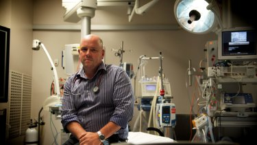 Simon Judkins, president the Australasian College for Emergency Medicine, says waiting times for mental health patients are unacceptable.