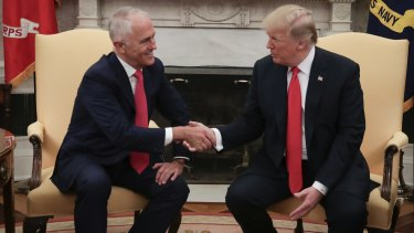 Prime Minister Malcolm Turnbull pushed for an exemption during a meeting with US President Donald Trump in Washington DC.