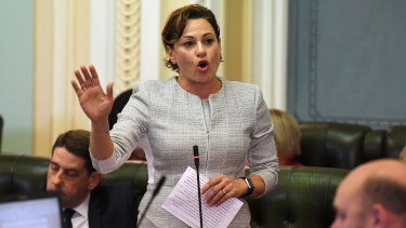 Deputy Premier Jackie Trad has denied Bill Byrne's resignation was over a dispute about tree-clearing legislation.
