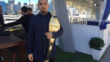 Whittaker won the interim middleweight title, which later became the undisputed title, in 2017.