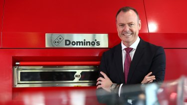 Domino's chief Don Meij.
