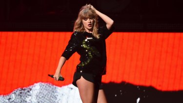 Taylor Swift once boycotted Spotify but has now listed her music on the streaming service.