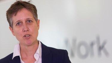 Sally McManus, secretary of the Australian Council of Trade Unions.