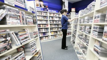 Video hire stores are fast becoming an anachronism.