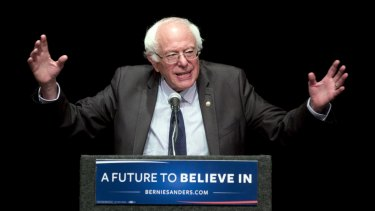 Bernie Sanders showed unexpected strength.