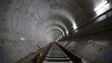 Most of the proposed metro line between Westmead and the CBD will run through tunnels.