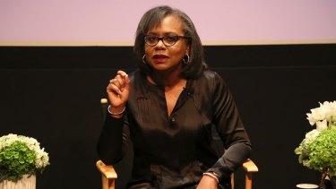 Anita Hill speaking in 2017.