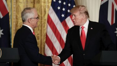 Australia's Prime Minister Malcolm Turnbull discussed trade with US President Donald Trump during a recent visit to the White House.