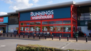 The first Bunnings store in Britain