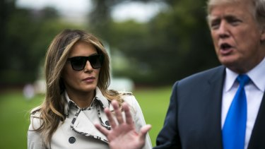 Donald Trump has not commented on the alleged affair, which reportedly occurred when wife Melania was nursing their newborn son.