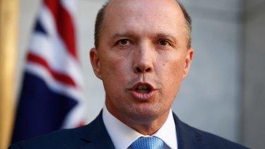 Australians, all let us rejoice our Immigration Minister, Peter Dutton.