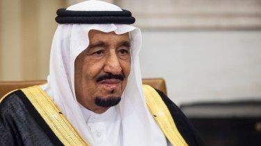 Saudi Arabia's King Salman bin Abdulaziz.