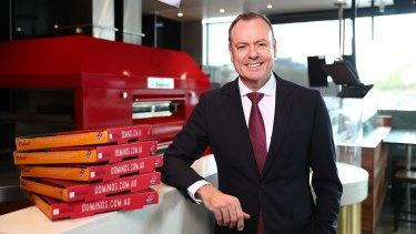 Domino's chief executive Don Meij.