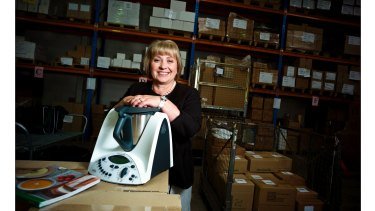 Grace Mazur holds the franchise for Thermomix in Australia.