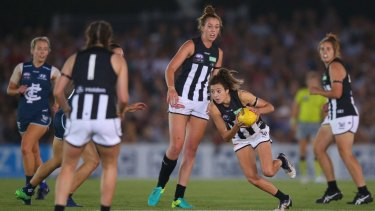 The AFL Women's league is a sign of the rising interest in women in sport.