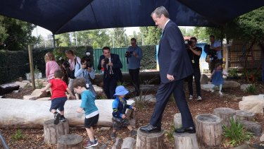 Labor says some low income parents will no longer be able to afford childcare.