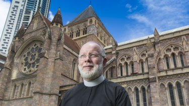 The Anglican Dean of Brisbane, Dr Peter Catt.