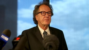Geoffrey Rush has denied any allegations of wrongdoing.