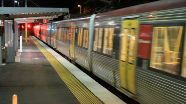 Buses replaced trains from Northgate to Petrie.