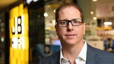 Chief executive Richard Murray said JB Hi-Fi was willing to sacrifice profit margin to maintain and grow market share.